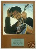 BOB  DYLAN -  NASHVILLE SKYLINE  -   Framed LP Cover